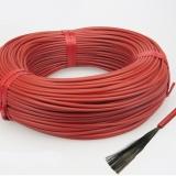 220 вольт Нагревательные карбоновые кабели в силиконовой изоляции