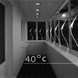 Тепловые завесы для окон и балконов.