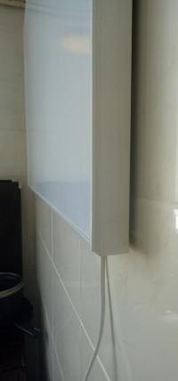 04 Карбоновая инфракрасная нагревательная панель  Infraterm 120 ватт