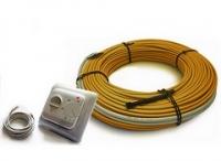 Комплект для теплого пола с кабелем на 8,5 - 10 кв.м
