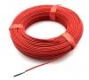 Нагревательный карбоновый кабель в силиконовой изоляции на 18 кв.м
